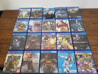 En Venta Juegos Playstation 4 Ps4 Originales !!