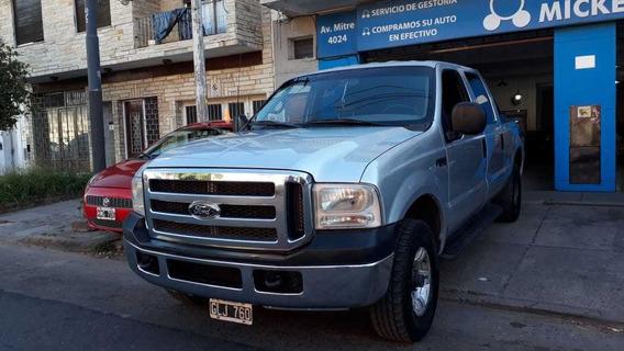 Ford F100 Doble Cabina Xlt 3.9 Diesel Gris Plata