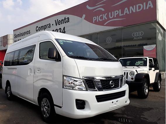 Nissan Urvan 2016 15 Pasajeros