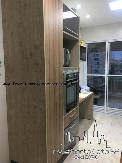 Apartamento Para Venda Em Mogi Das Cruzes, Vila Nova Socorro, 3 Dormitórios, 3 Suítes, 4 Banheiros, 2 Vagas - Home Club_1-1521641