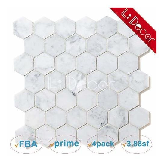 Li Decoración Hexagonal De Malla. 2 Patrón Decorativo Mosaic