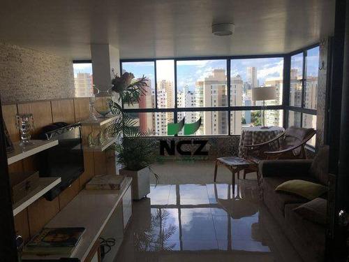 Cobertura Com 4 Dormitórios Para Alugar, 295 M² Por R$ 10.000,00/mês - Vitória - Salvador/ba - Co0143
