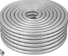 Tubo Flexible Metalico 1/2 Manguera Rollo Oferta 46900