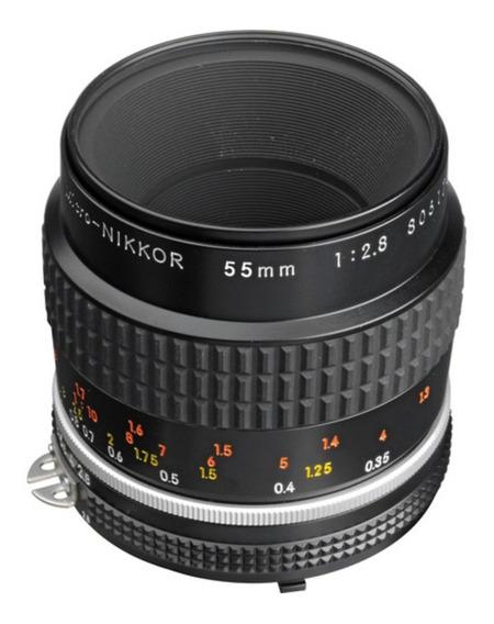 Lente Micro-nikon F/2.8 Ful-frame