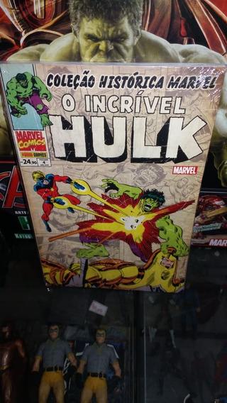 Coleção Histórica Marvel O Incrível Hulk 4