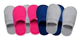 Kit 4 Pantufas Para Usar Em Casa Ou Maternidade 4001