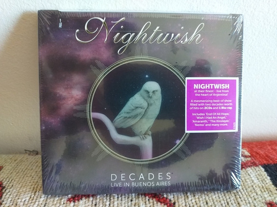 Nightwish: Live In Buenos Aires Blu Ray + 2 Cds.