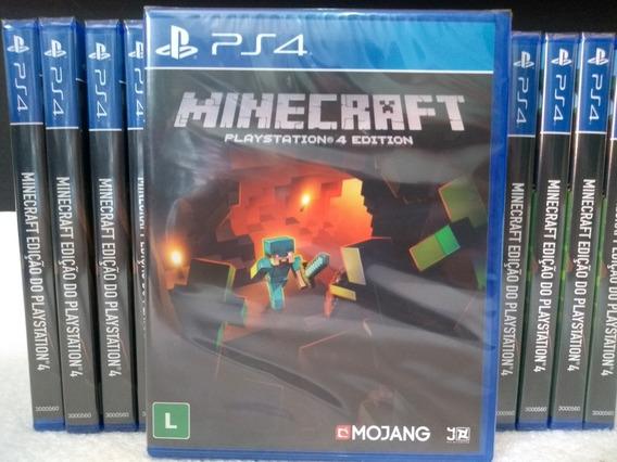 Minecraft - Ps4 Edition - Midia Fisica - Original Português