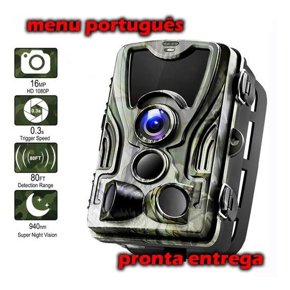 Câmera Trilha Caça Visão Noturna Hc-801a Modelo 2020
