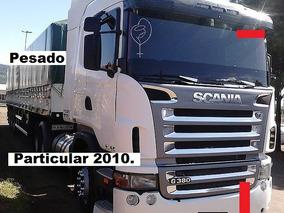 Scania G 380 - 6x2 Carreta Ls Graneleira Randon / Ano 2010