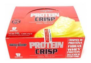 Protein Crisp Bar Caixa Com 12 Unid. Integralmedica