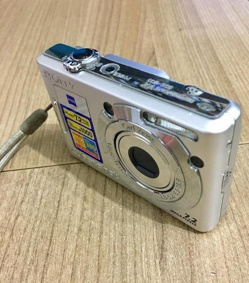 Câmera Sony Cyber-shot W-35 7.2 Mega Pixels