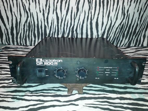 Amplificador Ciclotron Cp 200 R