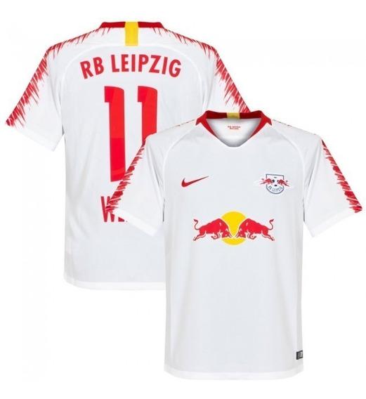 Camisa Rb Leipzig Home 18-19 Werner 11 Importada