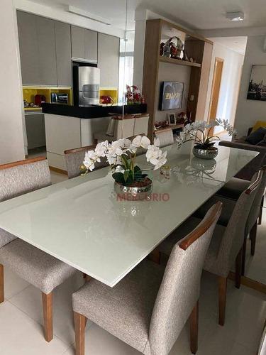 Imagem 1 de 23 de Apartamento Com 3 Dormitórios À Venda, 80 M² Por R$ 549.000,00 - Vila Aviação - Bauru/sp - Ap3716