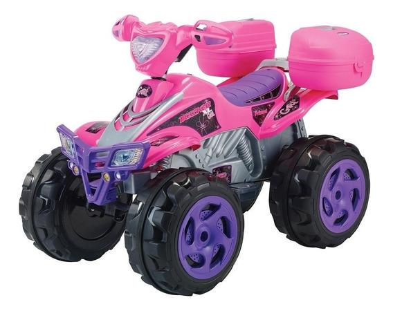 Moto Electrica Para Niña Prinsel Tracker Girl Rosa