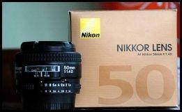 Lente Nikon Af 50mm 1.4 D