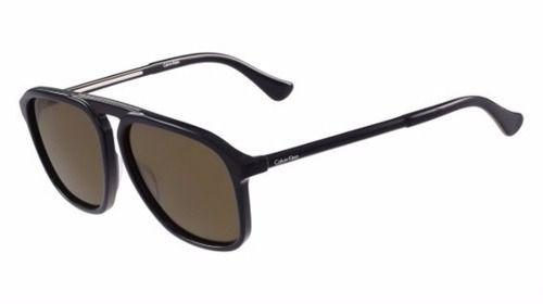 Óculos De Sol Masculino Calvin Klein Ck4317s 414 Marrom