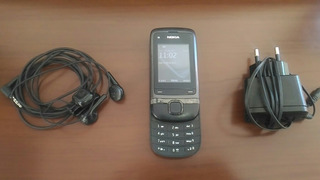 Celular Nokia C2-05 Bluetooth, Fone De Ouvido, Carregador