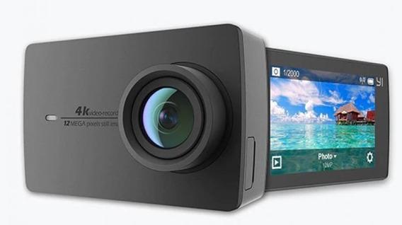 Action Camera Ação Xiaomi Yi 4k 12mp Filmadora Igual Go Pro