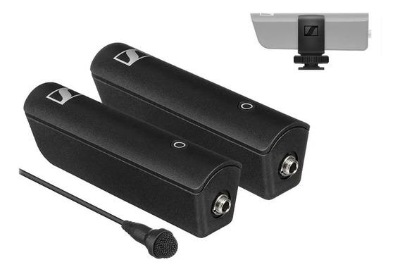 Microfone Lapela Wireless Sennheiser Xsw-d Montagem Câmeras