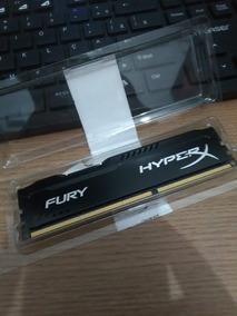 Memória Kingston Hyperx Fury 4gb 1600mhz Ddr3 Cl10 Black