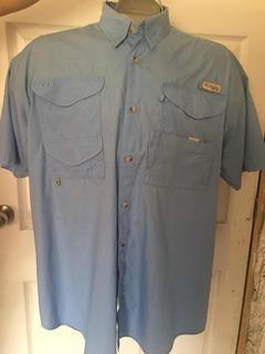 Camisa Columbia Pfg Pesca Talla Xl