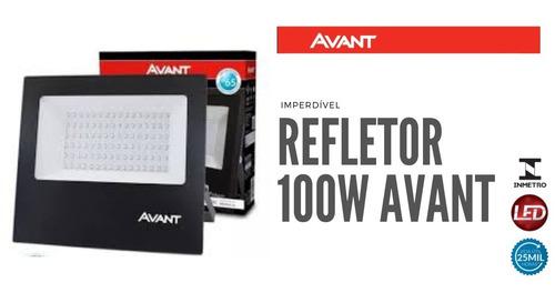 Refletor Led 100w Avant Branco Frio Ip65