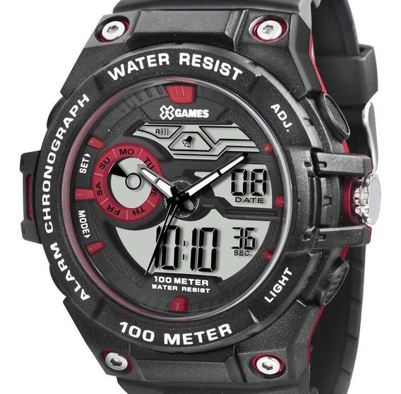 Relógio Xgames Masculino Xmppa185 Bxpx Digital Esportivo