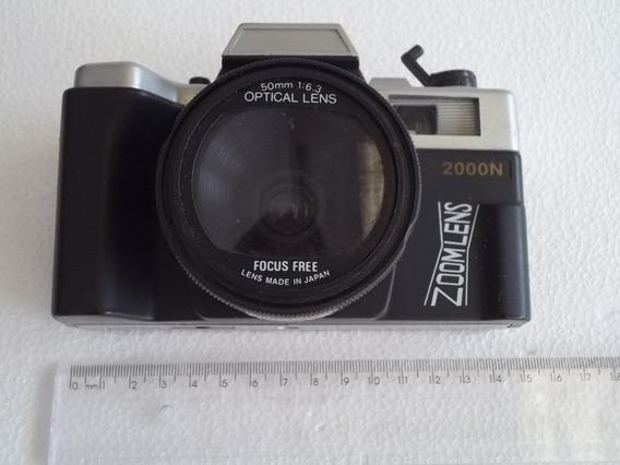 Antiga Câmera Yashica 2000 N Maquina Fotografica Defeito