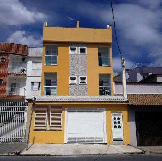 Cobertura Com 2 Dormitórios À Venda, 100 M² Por R$ 350.000 - Vila Metalúrgica - Santo André/sp - Co0703