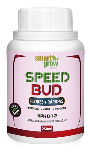 Imagem 1 de 4 de Fertilizante Smartgrow Speed Bud 250ml - Flores Mais Rápidas