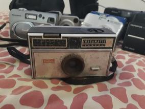 Lote Câmaras Fotográficas Antigas Kodak E Outras