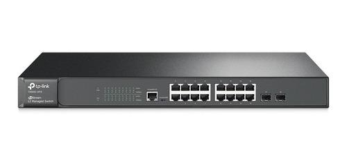 Switch 16 Portas Rack T2600g-18ts V2.0 Sg3216 V4.0 Tp-link