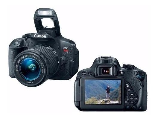 Câmera Canon T5i Com Lente, Câmera De Ação E Acessórios