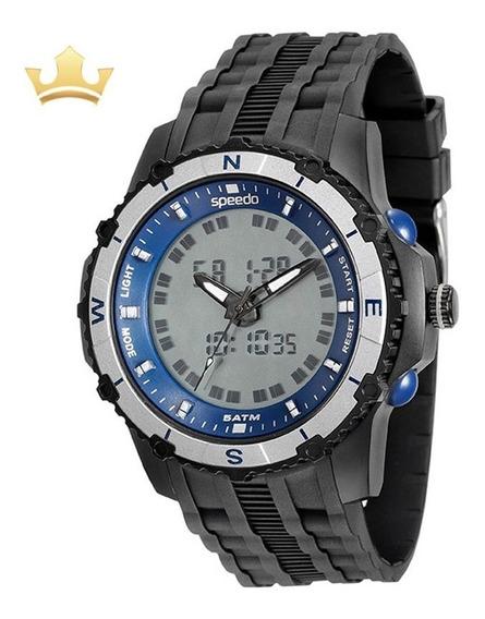 Relógio Speedo Masculino 81138g0evnp2 Com Nf