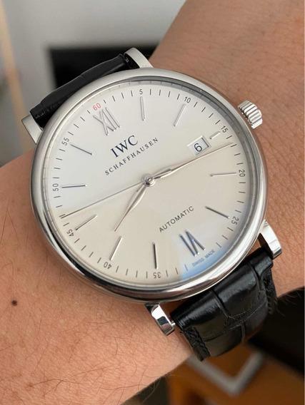 Reloj Iwc Portofino Solotiempo Impecable Modelo Portofino