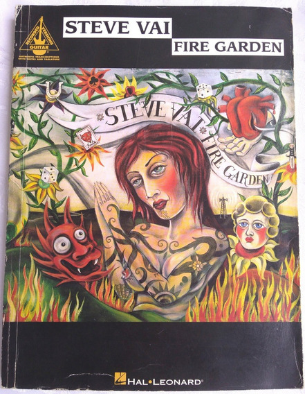 Songbook Steve Vai Fire Garden (guitar Recorded Versions)