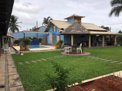 Casa À Venda Na Beira Da Praia 4 Quartos 4 Banheiros