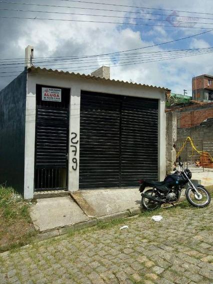 Casa Com 1 Dormitório À Venda, 80 M² Por R$ 175.000 - Vila São Paulo - Ferraz De Vasconcelos/sp - Ca0870