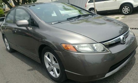 Honda Civic 2008 Ex Full Sunroof Sano Y Cuidado Americano
