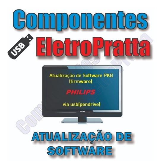 Atualização De Software Tv Philips 39pfl3008d/78