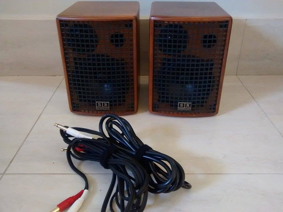 Monitor De Audio Profissional Sr Technology Club 30 W Rms
