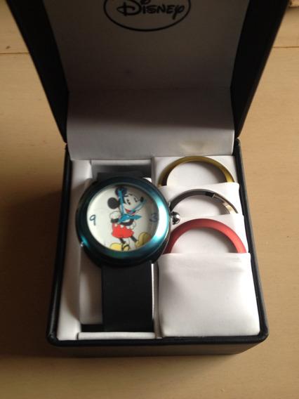 Reloj Mickey Mouse Boubble Disney 4 Biseles 42mm Prototyp