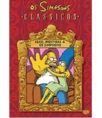 Dvd Os Simpsons Classicos Sexo Mentiras E Os Simpsons