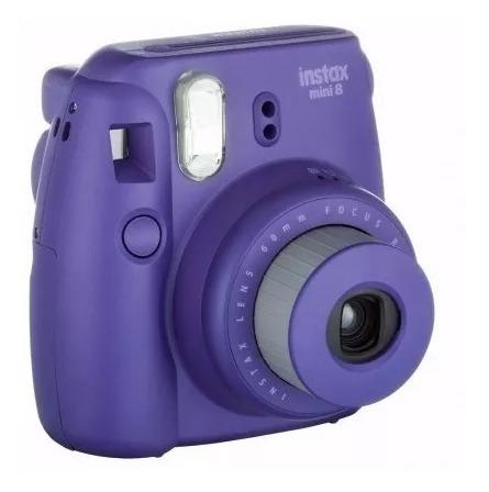 Câmera Instantânea Fujifilm Instax Mini 8 Roxo 100% Original