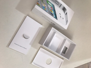 Caixa Vazia Apple iPhone 4s Branco 16gb Original