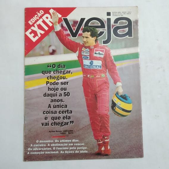 Revista Veja Edicao Extra Ayrton Senna Maio 1994