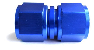 Acople Conexión Hembra Hembra Recto An8 Azul Ftx Fueltech