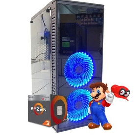 Cpu Gamer Amd Ryzen 2200g / 320gb / 8gb / Dvd / Fortnite